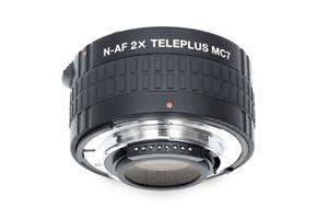 Kenko Teleplus MC7 DGX 2x Teleconverter NIKON Autofocus Tele Converter Doubler