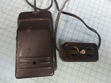 Vintage New Home Sewing Machine Foot Pedal and Power Outlet