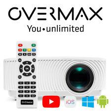 Beamer Projektor OVERMAX LED Full HD Wifi Mini Android Heimkino TV Spiel