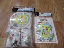 1989 Party Pack Disney's The Little Mermaid Birthday Party Goods   NOS