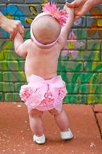 Ruffle Butts Bow Bloomer Diaper Cover Ruffles 1st Birthday Baby Girls 24m 2 T