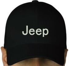 Jeep black cap hook and loop closure hat autolover Jeep lover gift
