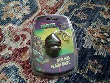 Teenage Mutant Ninja Turtles TMNT 8GB Shell USB Flash Drive by Sakar ~ Key Chain