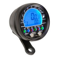 Acewell 2853AB Black Digital Speedometer Tacho Speedo Motorbike Cruiser Chopper