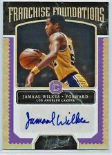 Jamaal Wilkes 2017/18 Cornerstones Autograph SP 20/49!  LAKERS!