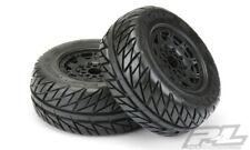 "Pro-Line Street Fighter SC 2.2""/3.0"" 17 mm Hex Tires/Wheels Black: F/R Senton 6S"