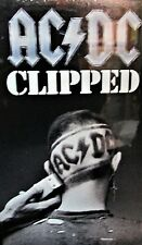 AC/DC - Clipped NEW! Sealed Rare VHS, Razors Edge Videos Live,Rock ,Collectors