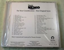 "Thomas Newman ""Finding Nemo (Score/Soundtrack)"" Cd New! Fyc, Promo! 39 Tracks!"