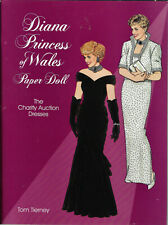 Dover: Diana Princess of Wales Paper Doll  by Tom Tierney... New Uncut