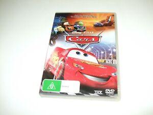 Cars - Ex-Rental DVD **Free Postage** Disney Pixar