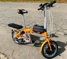 Compact Electric Bike 48v 18AH Lithium battery 1000w front-wheel electric motor