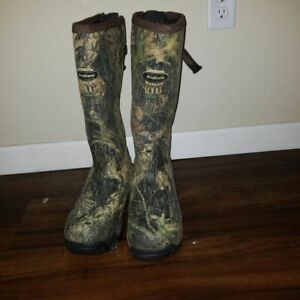Lacrosse 1000g Hunting Alpha Boots Size 9 Used Hunting Fishing Chore Work rubber