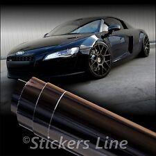 Pellicola adesiva NERO LUCIDO car wrapping tuning auto moto ANTIGRAFFIO