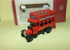 BUS ANGLAIS SODA CRYSTALS GENERAL OXFORD DIECAST comme LLEDO
