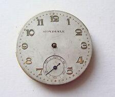 Running Reloj De Bolsilo Mondiale Pocket Watch Movement No