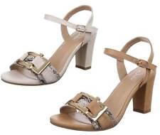 Elegante Damen-Sandalen & -Badeschuhe mit Pump-Absatzart aus Kunstleder für Sehr hoher Absatz (Größer als 8 cm)