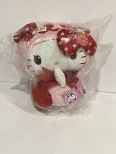 Sanrio Hello Kitty Strawberry Panda Big Plush 35cm Japan