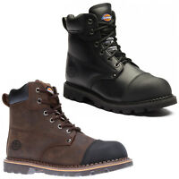Dickies Crawford Safety Boots Mens Work Steel Toe Cap Midsole Goodyear Welted