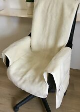Seat Cover, Chair Cushion, with Cashmere Part, Made in Germany