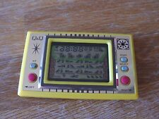 """Lcd game Q & Q """" Cat mouse """" boxed game watch"""