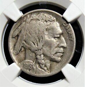 1918-D 5C Buffalo Nickel. VF 35 NGC