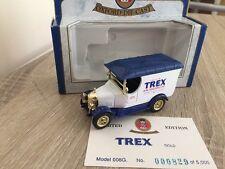 Oxford Diecast Trex Gold Vegetable Fat 008G Bullnose Morris Van Limited Edition