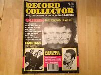 Record Collector Magazine - Queen, George Michael, Embrace - Jan 1998 No 221