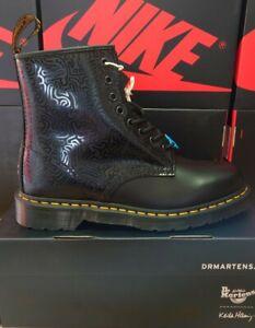 2020 Dr Martens Keith Haring 1460 Boot UK 9 USA 10 EU 43