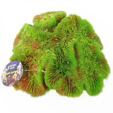 Artificial Brain Coral Green Synthetic Reef Marine Aquarium Fish Tank Ornament