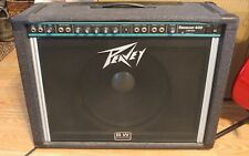 RARE PEAVEY SESSION 400 LIMITED Steel Guitar Amplifier.HUGE BLACK WIDOW SPEAKER!