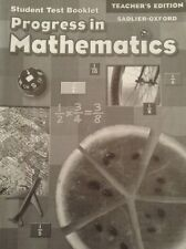 Progress in Mathematics 2006 : Test Booklet  Teacher Edition ISBN 0821582755