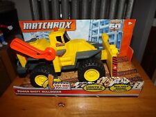 "MATCHBOX JUMBO POWER SHIFT BULLDOZER, 11"" LONG, NIB 2012"