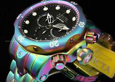 Invicta Mens 52mm Reserve Venom Swiss Quartz Chrono Iridescent SS Bracelet Watch
