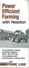 HESSTON TRACTOR - POWER EFFICIENT FARMING BROCHURE - BX106