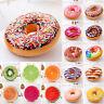 3D Peluche Douce Donut Fruit Coussin Jouet /Jeté de Lit Oreillers Chaise Siège