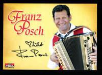 Franz Posch Autogrammkarte Original Signiert ## BC 128350