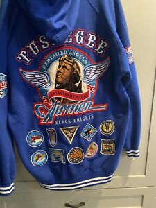Tuskegee Airmen Bigboy Jacket Red Tails Sz XL