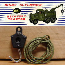 DINKY TOYS PAINTED HOOK WITH CORD - SUITS NO.430 NO.661 NO.971 NO.972