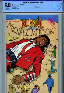 Rock N' Roll Comics #36 (1991) Revolutionary CBCS 9.8 White Michael Jackson