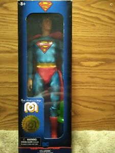 """SUPERMAN Mego Classic 14"""" Limited Edition Action Figure, New In Box"""
