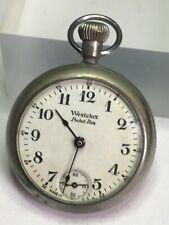 Vintage Westclox Pocket Ben Pocket Watch - Running