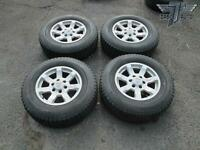 "04-07 NISSAN TITAN SET OF 4 FACTORY 17"" RIM 17X7.5J WHEEL W/ WESTLAKE TIRE OEM"