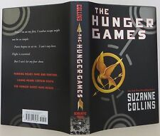"""SUZANNE COLLINS """"The Hunger Games"""" SIGNED FIRST EDITION"""
