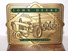 John Deere 4010 Tractor Planter 2001 Calendar Medallion Ltd Ed Timeless Legends