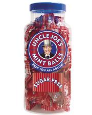 Uncle Joe's Sugar Free Mint Balls - Sugar Free Sweets Jar - 1.4kg Plastic Jar