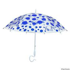 LAMMFROMM Yayoi Kusama Umbrella LOVE FOREVER Blue Polka Dots