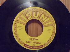 45 SUN 387 TONY ROSSINI -  NOBODY - MOVED TO KANSAS CITY - ORIGINAL - Mint -