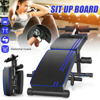 Ab Bench Sit Up Board Bench Abdominal Exercise Adjustable Gym Fitness Home