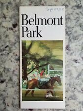 Belmont Horse Racing Programs from 1970 and 1971 NYRA ***You Choose***