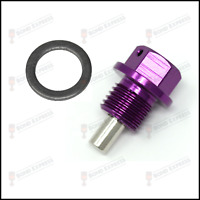 TOYOTA MR2 CELICA Magnetic Sump Plug M12 x 1.25 SILVER NISSAN 220SX SKYLINE